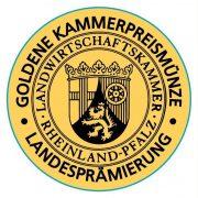 Auszeichnung mit der Goldenen Kammerpreismünze der Landwirtschaftskammer Rheinland-Pfalz
